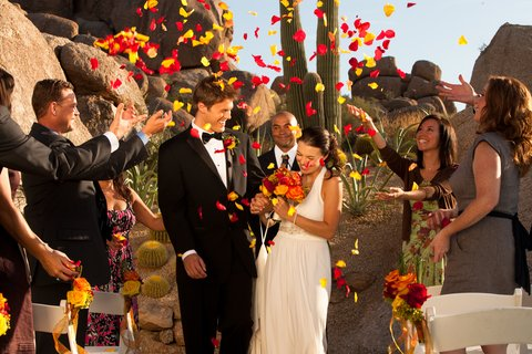 Boulders Resort & Golden Door Spa - Wedding At The Rock
