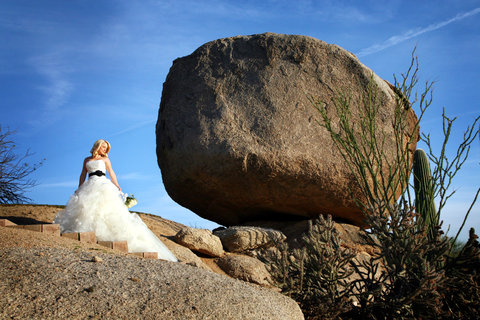 Boulders Resort & Golden Door Spa - Wedding Rosies Rock