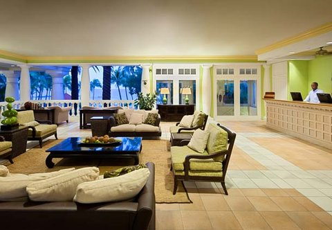 Curacao Marriott Beach Resort & Emerald Casino - Lobby
