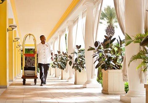Curacao Marriott Beach Resort & Emerald Casino - Friendly Staff