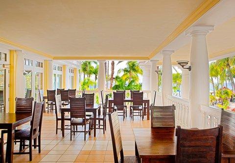 Curacao Marriott Beach Resort & Emerald Casino - Emerald Lounge Al Fresco