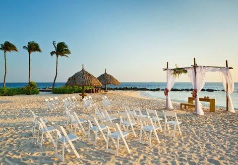 Curacao Marriott Beach Resort & Emerald Casino - Beach Wedding
