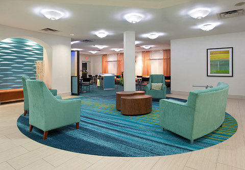 SpringHill Suites by Marriott Portland Airport - Lobby