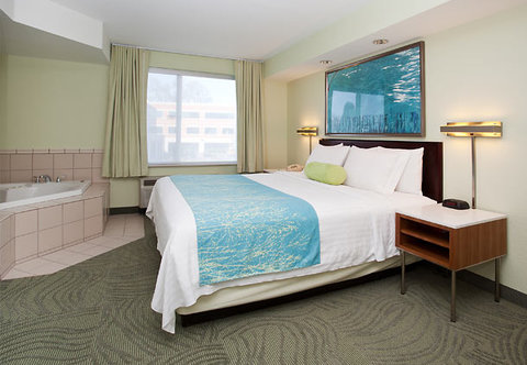 SpringHill Suites by Marriott Portland Airport - King Spa Studio Suite