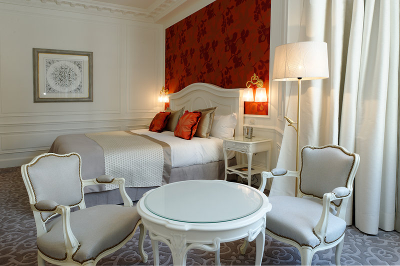 Hotel Hermitage Chambre