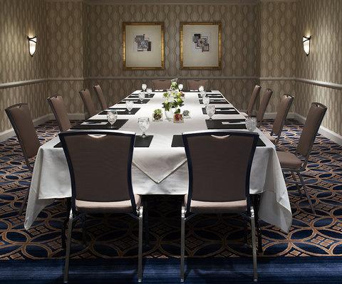Monaco Seattle A Kimpton Hotel - Athens Room Meeting Setup