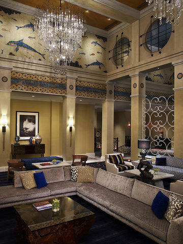 Monaco Seattle A Kimpton Hotel - Hotel Monaco Seattle Lobby Seating