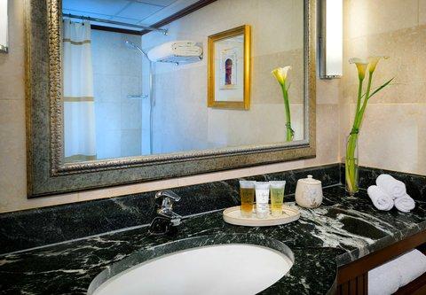 فندق ماريوت عمان - Executive Guest Bathroom