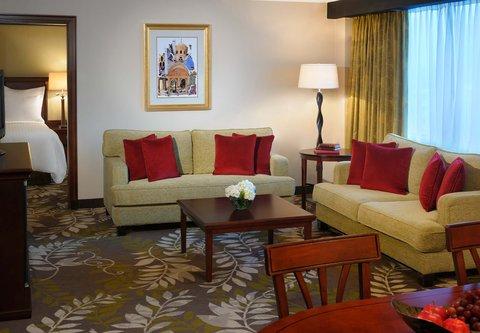 فندق ماريوت عمان - Executive Suite Living Room