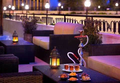 فندق ماريوت عمان - Piano Lounge Terrace