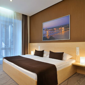 Promenade City Hotel - Bed Room