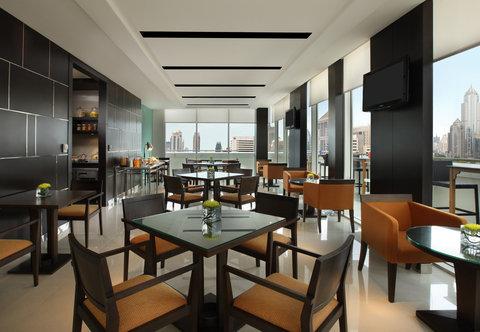 كورتيارد باي ماريوت بانكوك - Executive Lounge Dining Area