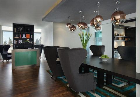 كورتيارد باي ماريوت بانكوك - Executive Lounge - Business Centre
