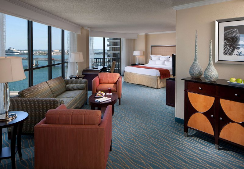 Marriott Biscayne Bay Hotel and Marina Szobakilátás