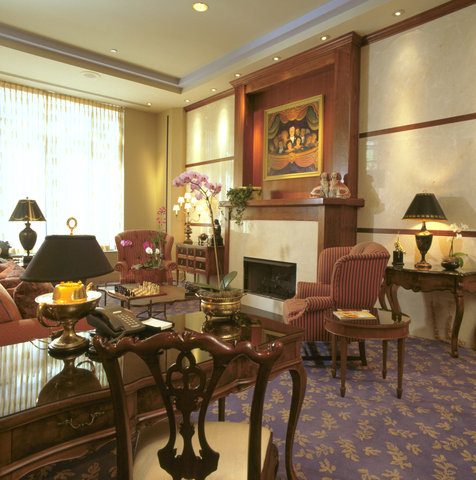 The Cincinnatian Hotel Preferred Hotels and Resorts - Lobby View