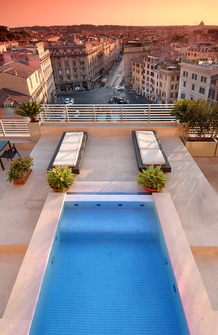 Hotel Bernini Bristol - Small Luxury Hotels of The World - Presidential Suite Private Swimming Pool