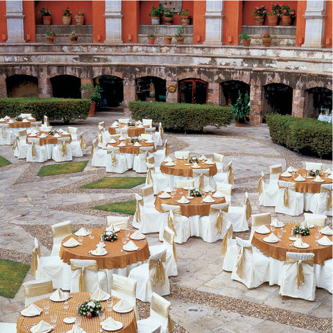Quinta Real Zacatecas - Banquet Set-Up