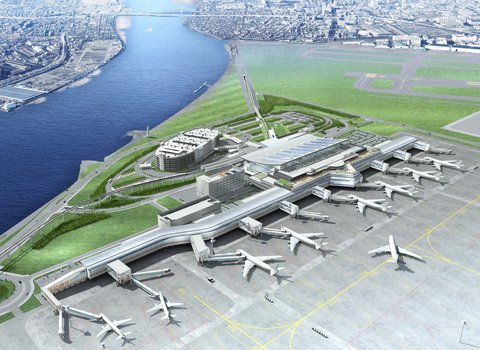 Grand Pacific LE DAIBA - New Haneda International Terminal Day Time By TIAT