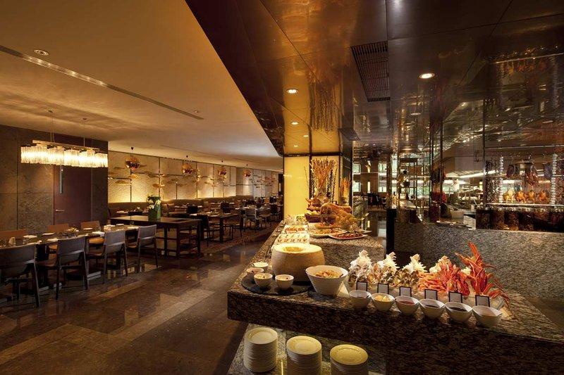 广州天河新天希尔顿酒店 餐饮设施