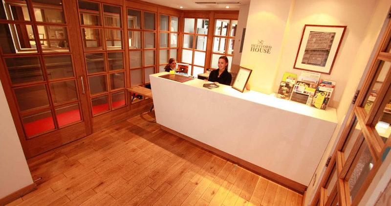 Hertford House Hotel Lobby