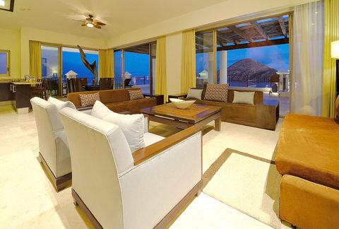 Casa Dorada Los Cabos Resort & Spa - Pent-house living Room