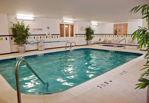 Fairfield Inn & Suites Spokane Downtown - Indoor Pool