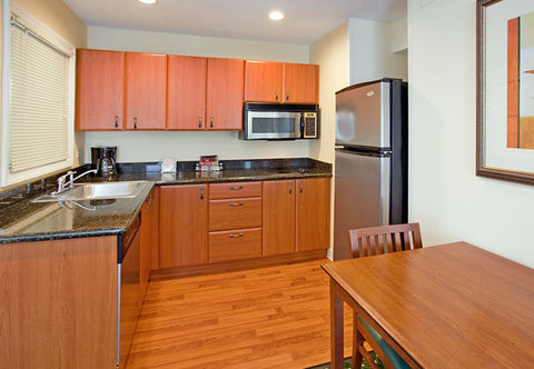 Residence Inn Charlotte University Research Park - Suite Kitchen