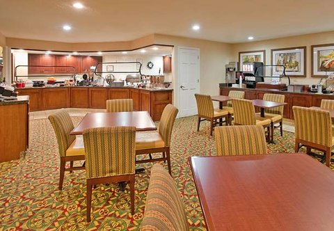 Residence Inn Charlotte University Research Park - Breakfast Area