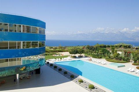 ذا مرمرة أنطاليا - The Marmara Antalya Pool