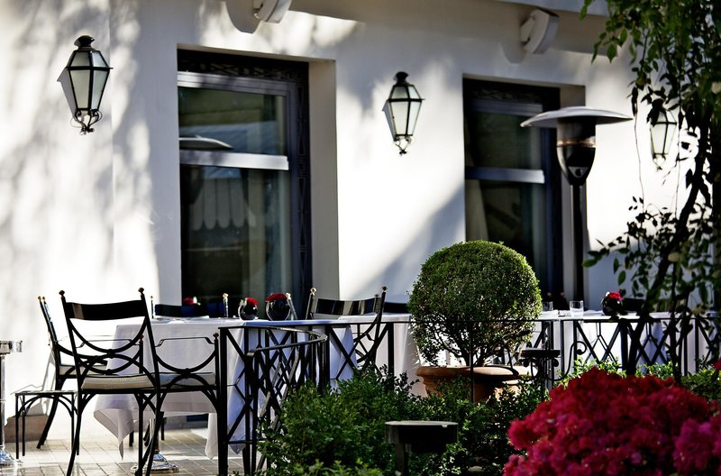 Aldrovandi Villa Borghese Gastronomía
