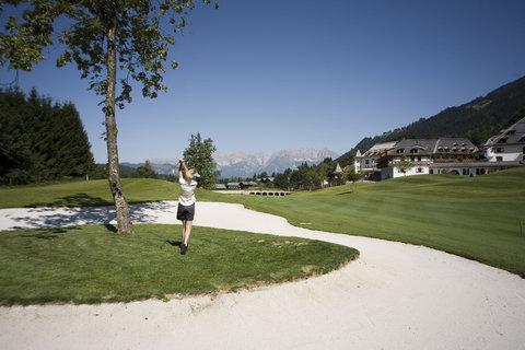 Kempinski Hotel Das Tirol - Golf Course Kitzbuehel
