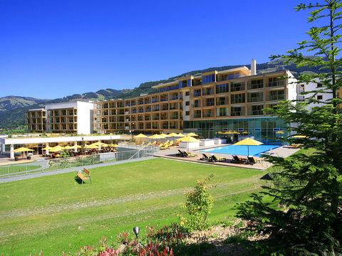 Kempinski Hotel Das Tirol - Summer Facade