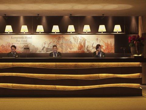 Kempinski Hotel Das Tirol - Reception