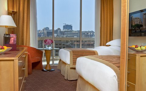 Gefinor Rotana Hotel - Club Rotana Room - Twin Bed