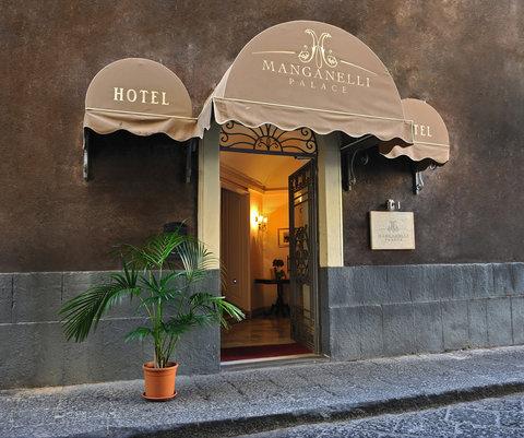 Manganelli Palace Hotel Catania - Exterior Front