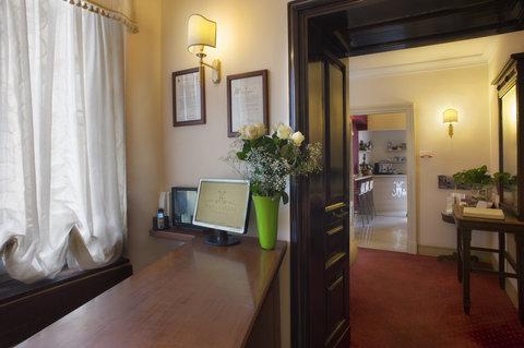 Manganelli Palace Hotel Catania - Reception