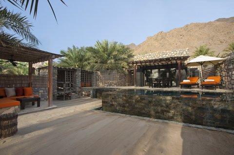 Six Senses Zighy Bay - Pool Villa Exterior
