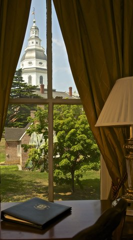 Historic Hotels of Annapolis - State House Guest Room View