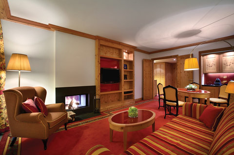 Kempinski Hotel Das Tirol - Deluxe Suite