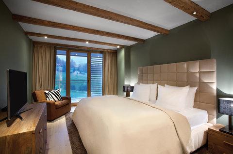 Kempinski Hotel Das Tirol - Suite Bedroom