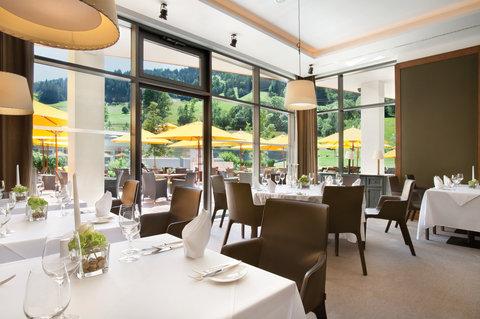 Kempinski Hotel Das Tirol - Restaurant