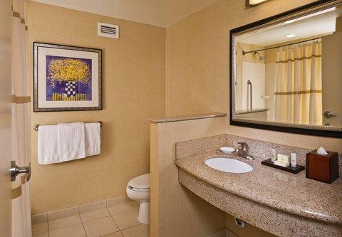 Courtyard Gaithersburg Washingtonian Center - Guest Room Vanity