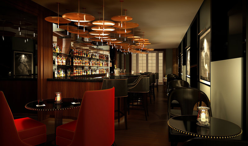 The Caledonian A Waldorf Astoria Hotel Bar/lounge
