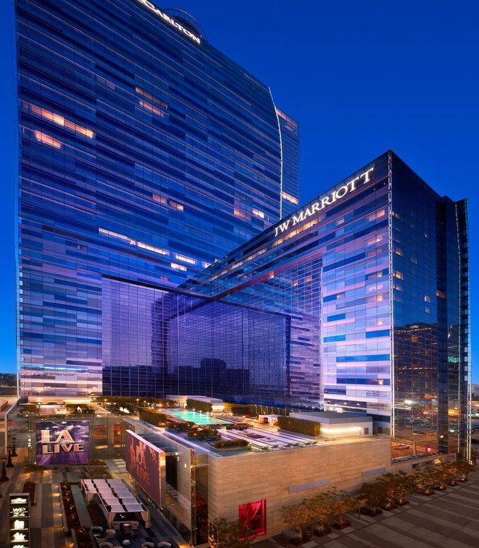 JW Marriott Los Angeles L.A. LIVE Ulkonäkymä