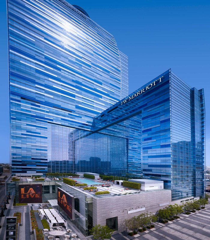 JW Marriott Los Angeles L.A. LIVE Außenansicht