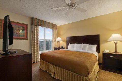 Homewood Suites Austin-South - King Bedroom
