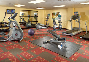 Fitness/ Exercise Room - Courtyard by Marriott Hotel Downtown Nashville