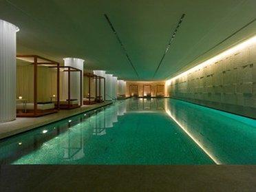 Bulgari Hotel London View of pool
