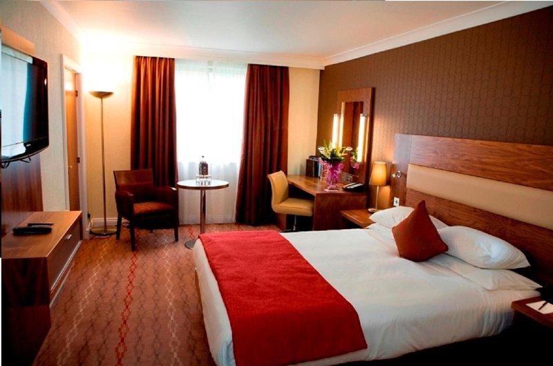 Hilton Bristol Hotel Vista della camera
