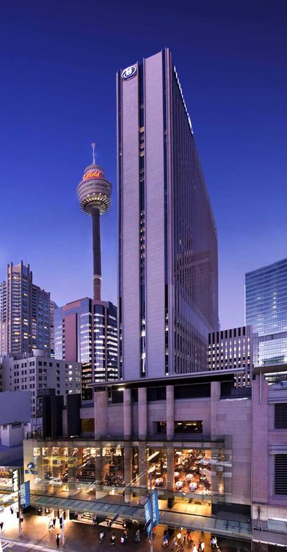 Hilton Sydney Außenansicht